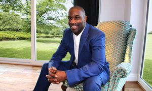 Derek Redmond Liverpool Business Fair